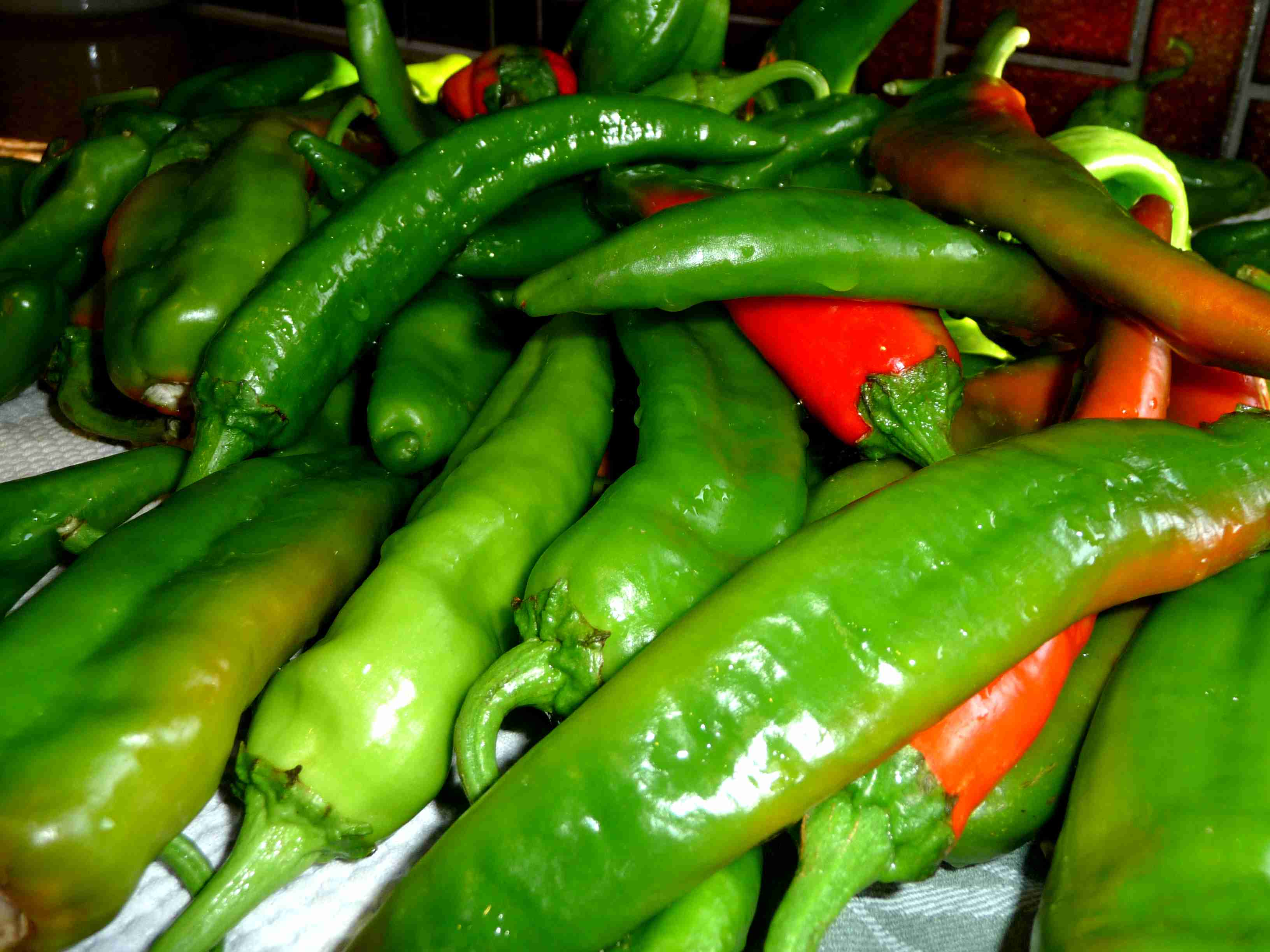 how to preserve fresh chili peppers